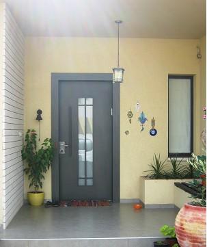 דלת כניסה משקוף רחב